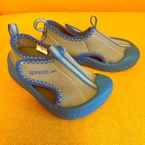 Speedo Baby Water Shoes in Blue and Gray S (5/6)